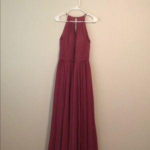 Azazie 'Cherish' Long Bridesmaids Dress